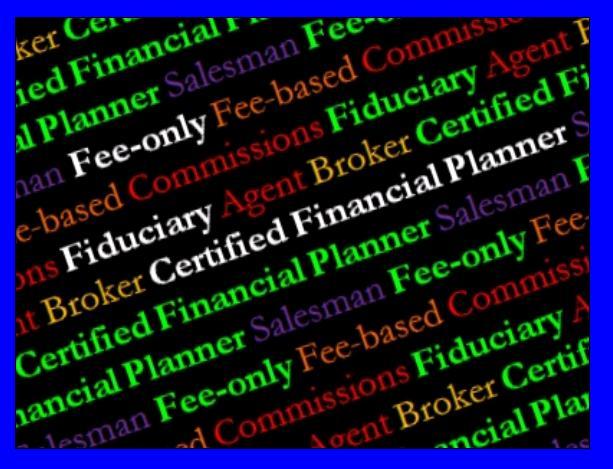 Commission Based Financial Advisor